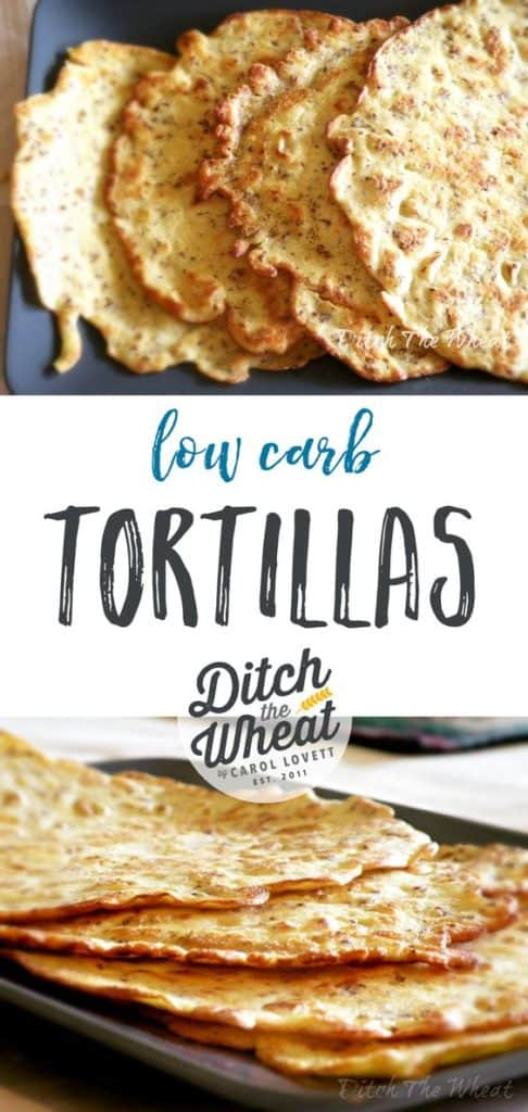THE EASIEST LOW CARB Tortillas - low carb tortillas keto, low carb tortillas coconut flour, low carb tortillas paleo, low carb tortillas recipe, low carb tortillas easy, low carb tortillas wrap
