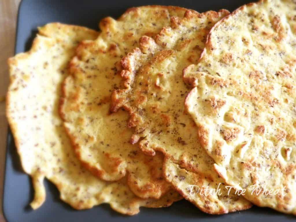 Low carb tortillas ditch the wheat - Recette low carb ...