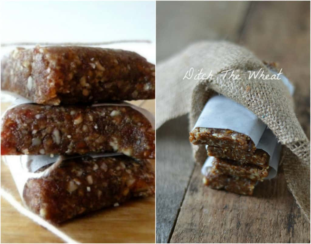 Pecan Pie Lara Bars: Original Picture and New Picture