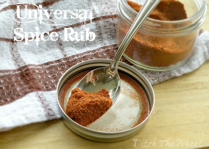 Universal Spice Rub // ditchthewheat.com