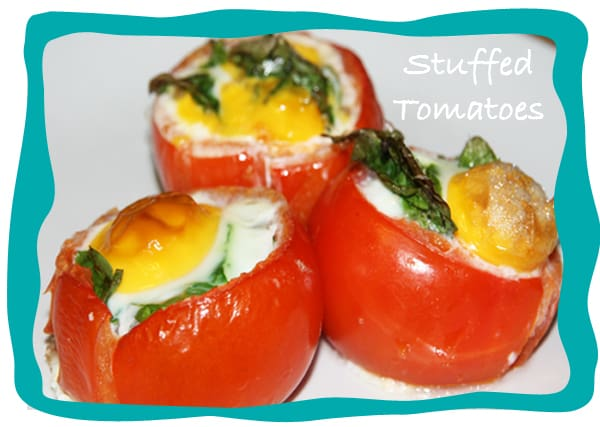 Delicious Stuffed Tomatoes // ditchthewheat.com