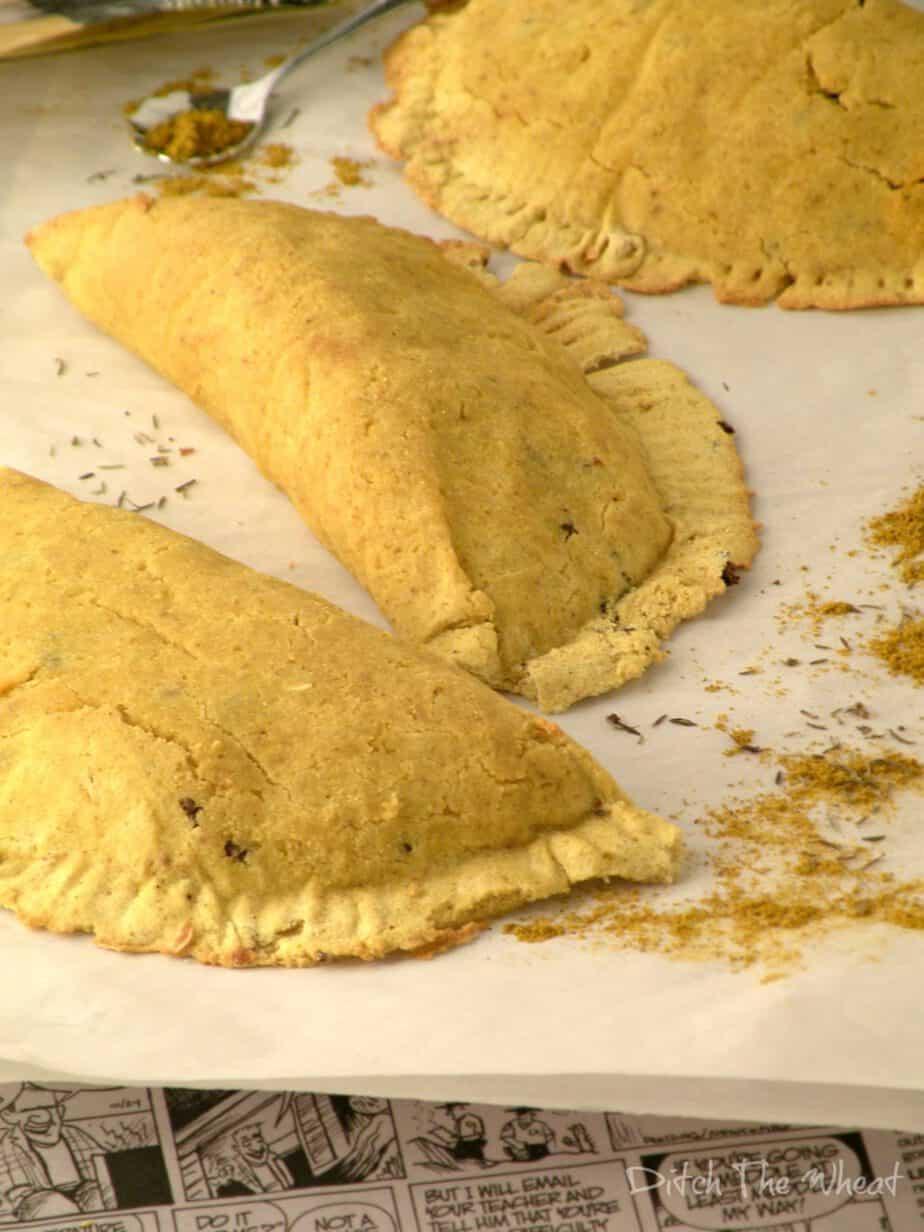 gluten free jamaican patties  ditch the wheat