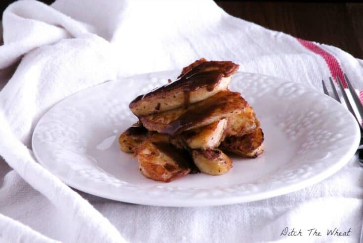 Paleo French Toast Apple Slices
