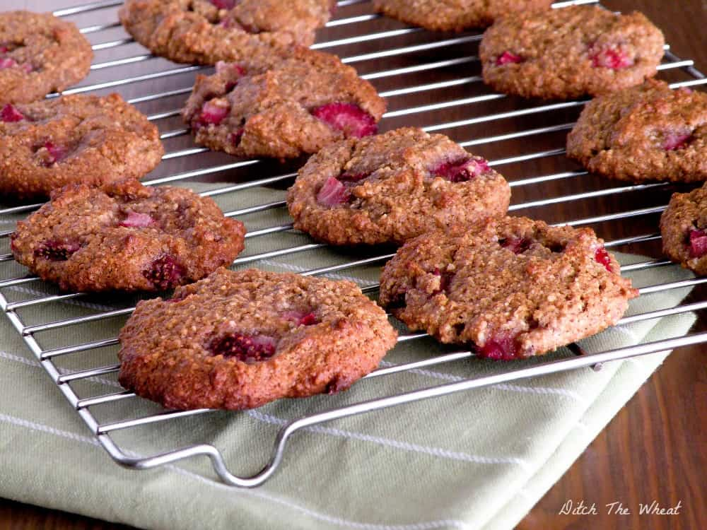 Paleo Strawberry Breakfast Cookie