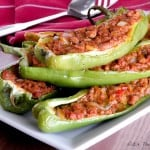 Paleo Stuffed Hot Peppers