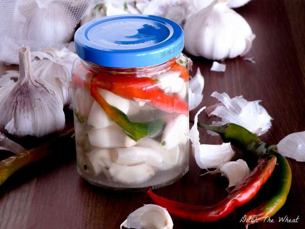 Spicy Fermented Garlic