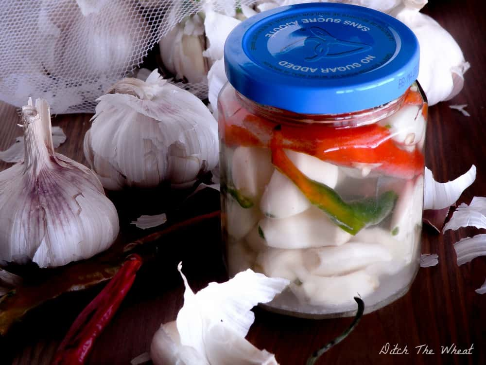 Fermented Spicy Garlic
