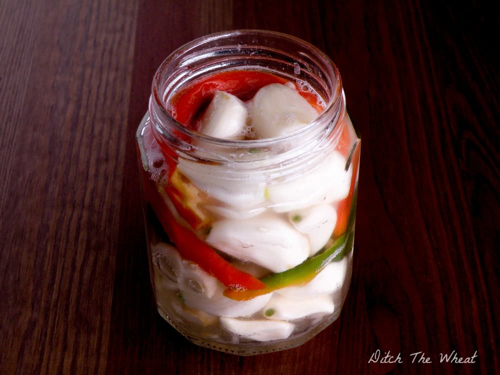 Fermented Spicy Garlic