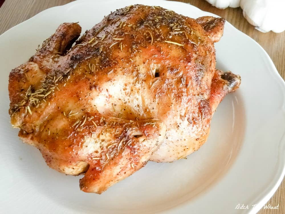 THE JUICIEST Roasted Cornish Hen - roasted cornish hen oven, roasted cornish hen recipe, roasted cornish hen paleo, roasted cornish hen keto, roasted cornish hen low carb, roasted cornish hen simple