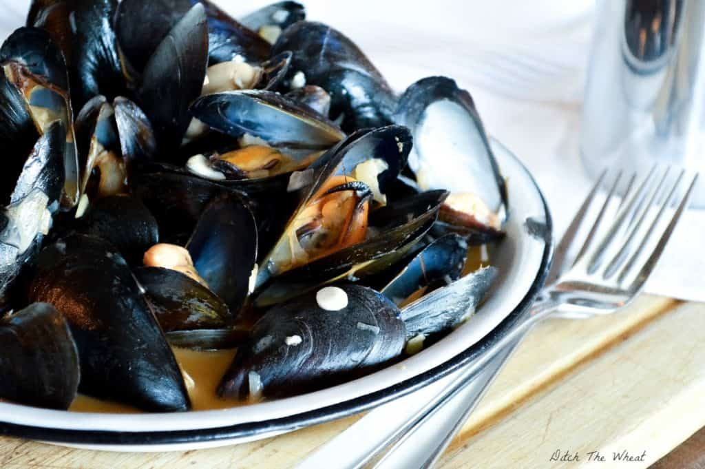 Coconut Curry Mussels | Ditch The Wheat