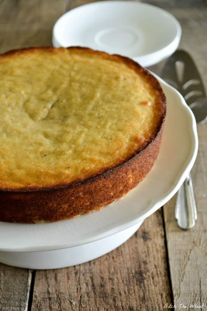 Grain Free Maple Plantain Cake