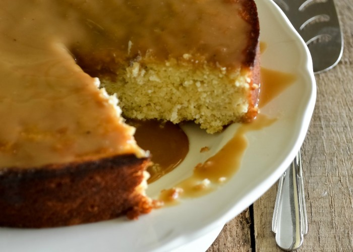 Grain Free Maple Plantain Cake