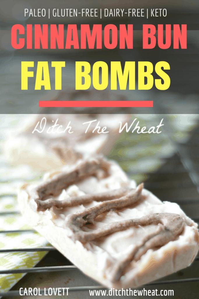 Cinnamon Bun Fat Bombs
