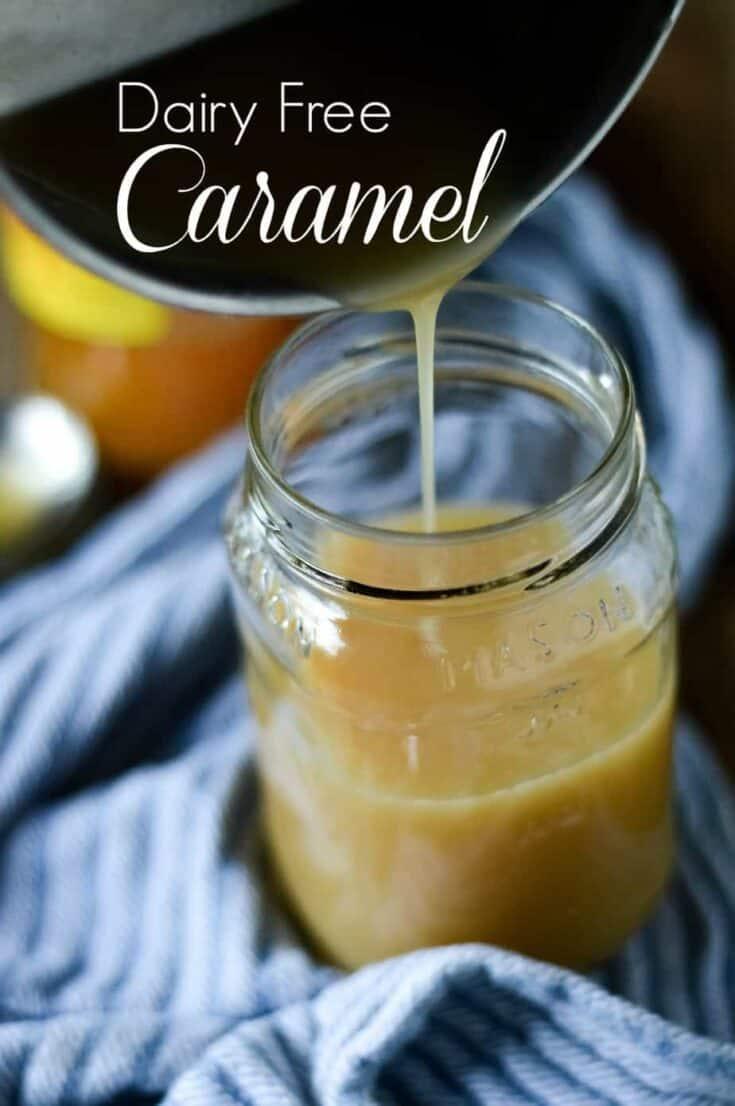 Dairy Free Caramel