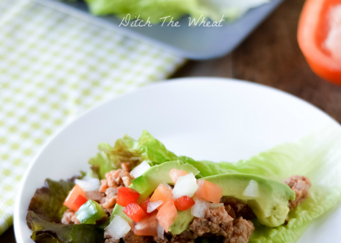Paleo Ground Pork Tacos