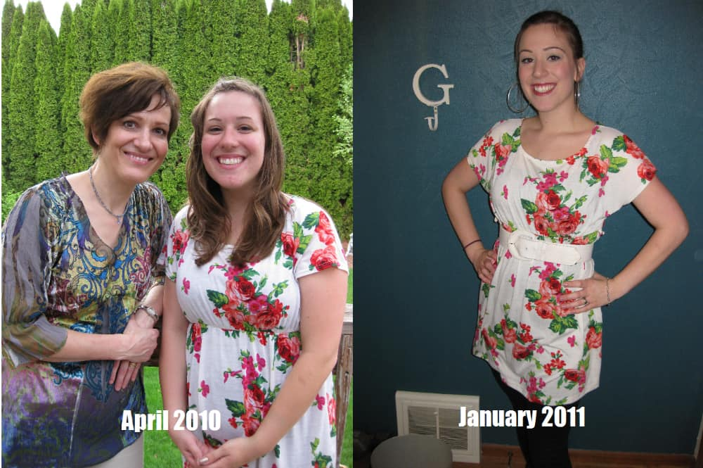Rosemary ~ Before & After (from calorie restricting)