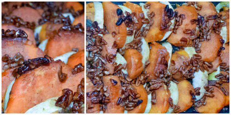 Bourbon Glazed Sweet Potatoes