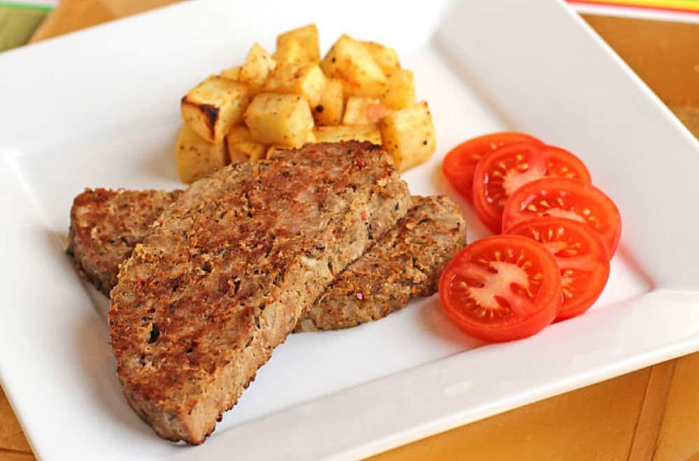 Slow Cooker Breakfast Meatloaf