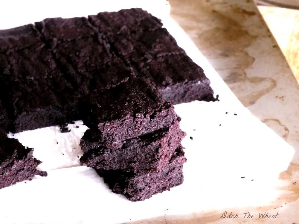 DTW -Coconut-Flour-Fudgy-Dark-Chocolate-Brownies-DSCN9390