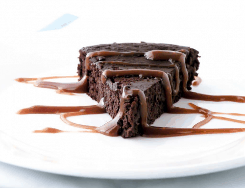 Living the Crunchy Life -chocolate truffle cake