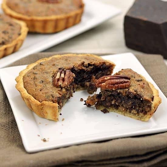 Paleo Fondue - Paleo Chocolate Pecan Tart