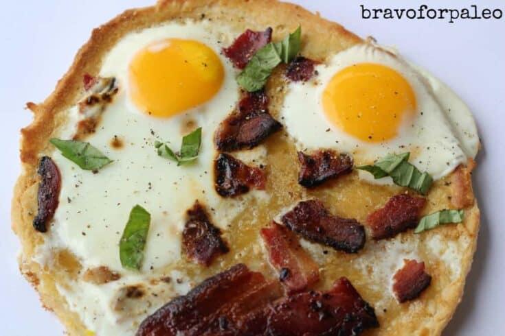 Gluten Free Breakfast Pizza