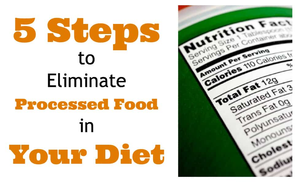 Eliminate Processed Food
