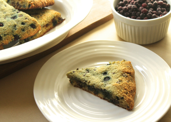Grain-Free Wild Blueberry & Chocolate Chip Scones