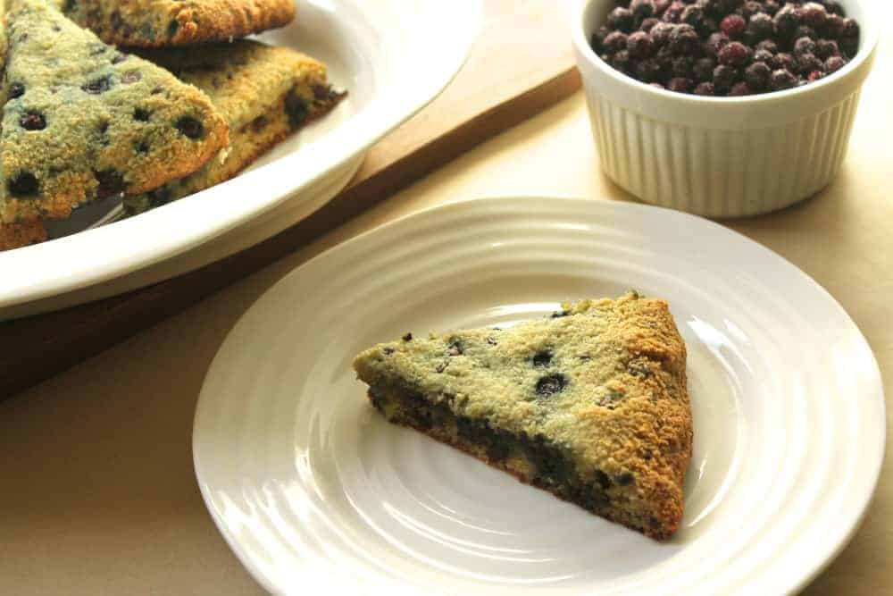 Grain-Free Blueberry and Chocolate Chip Scones
