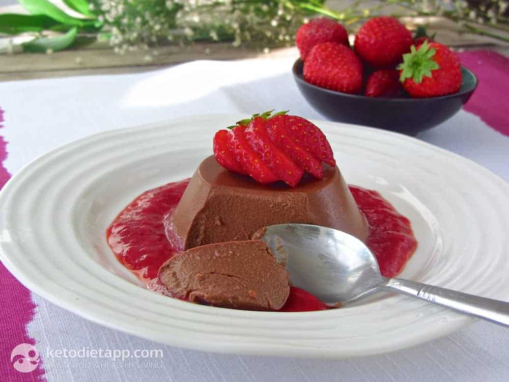 Spiced Chocolate Panna Cotta