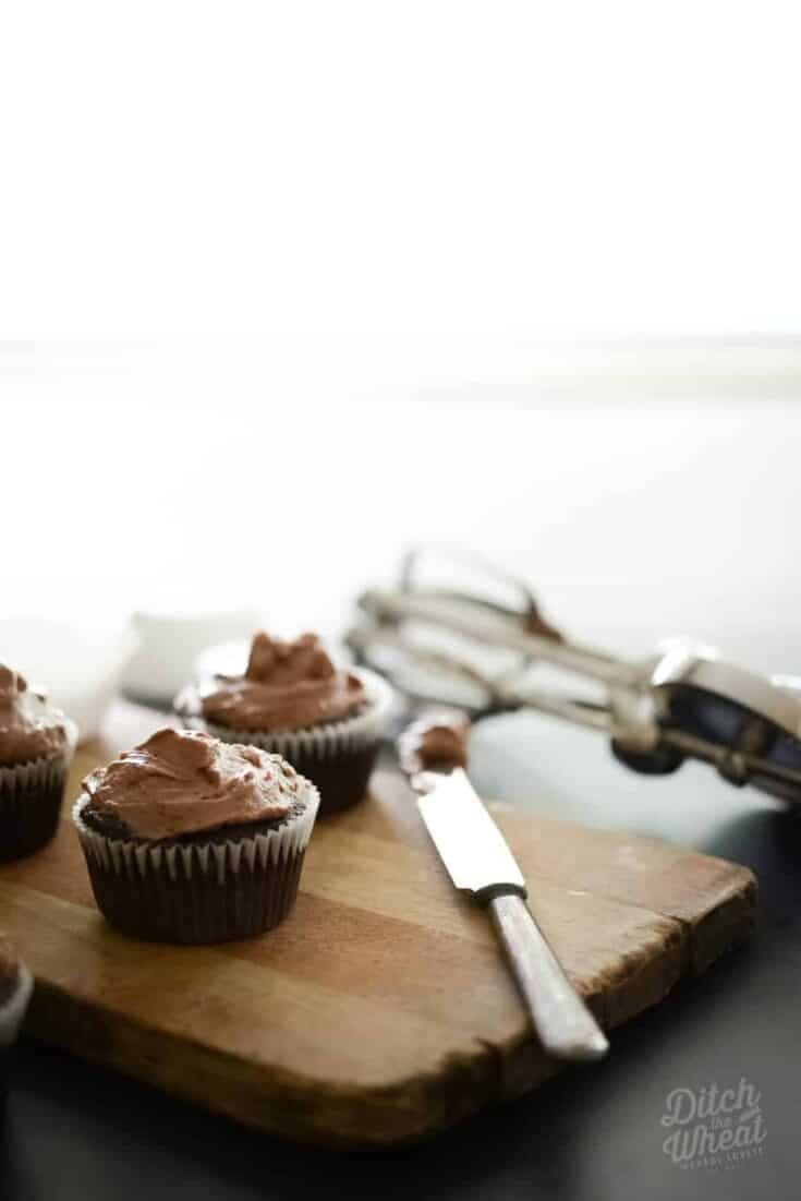 Chocolate Flourless Cupcakes (Preview from The Grain-Free Snacker)