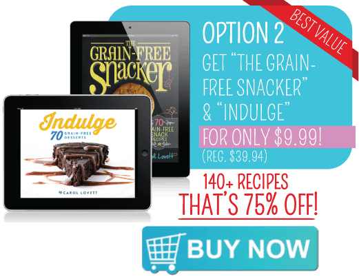 GET 75% OFF THE GRAIN FREE SNACKER!