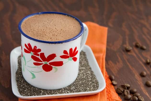 Rocket Fuel Cafe Mocha with Chia - Ditch the Wheat