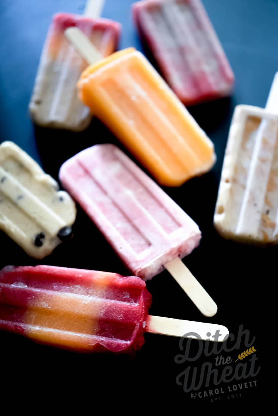 7 Popsicle Recipes wtih No Sugar Added