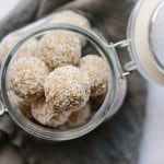Honeyed Lemon Ginger Bliss Balls