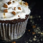 Gluten-Free Gingerbread Cupcakes - A Healthy Christmas eBook Review | Ditch the Wheat