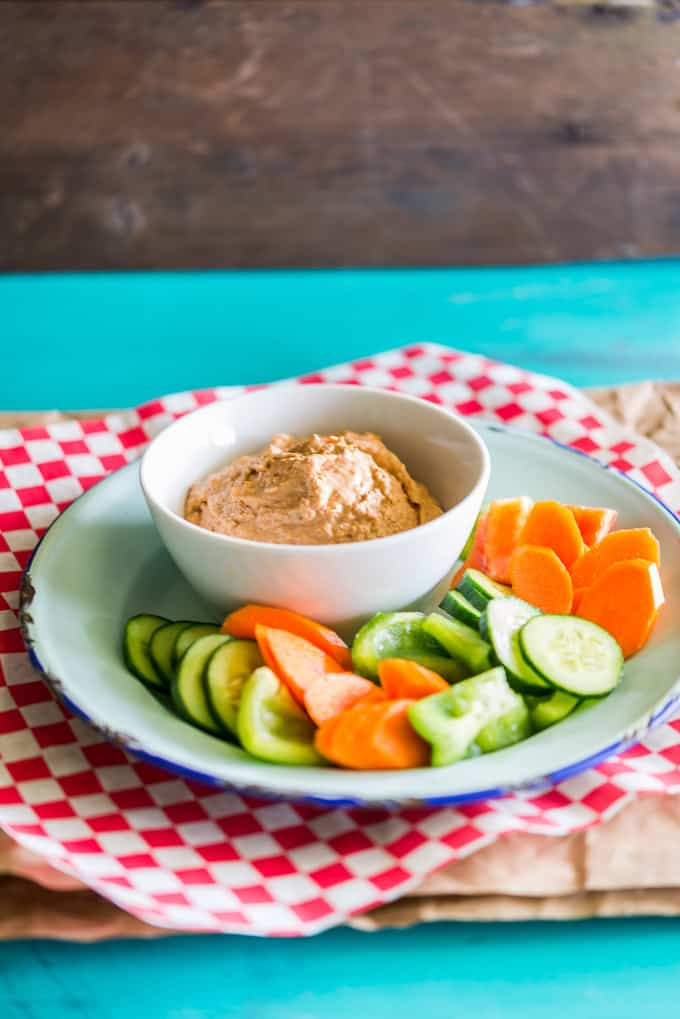Dairy-Free Spicy Salmon Dip