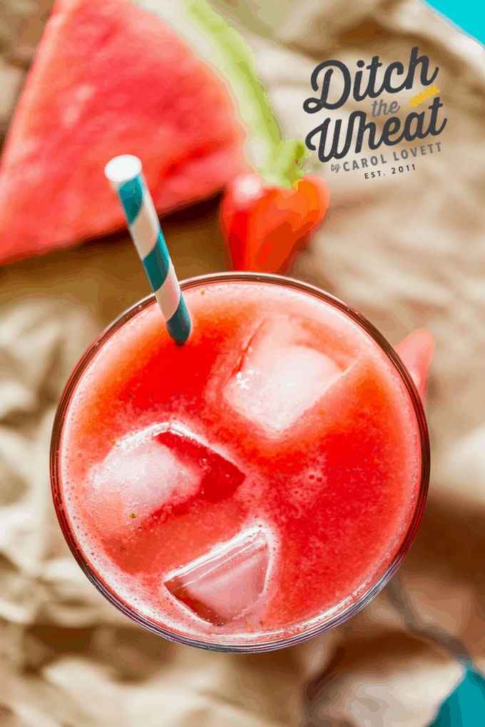 Strawberry Watermelon Drink