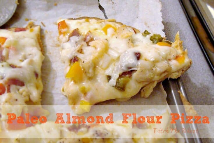 Paleo Almond Flour Pizza